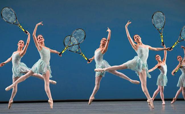 Теннис в балете