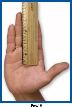 Определение размера ручки ракетки