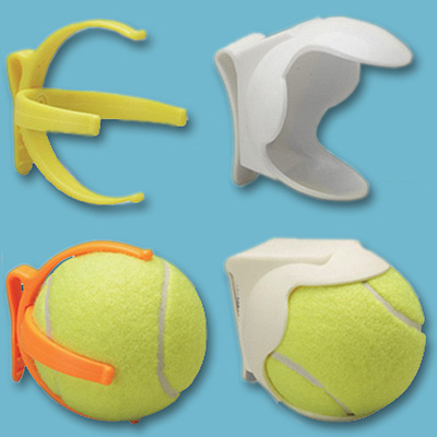 holder tennis ball