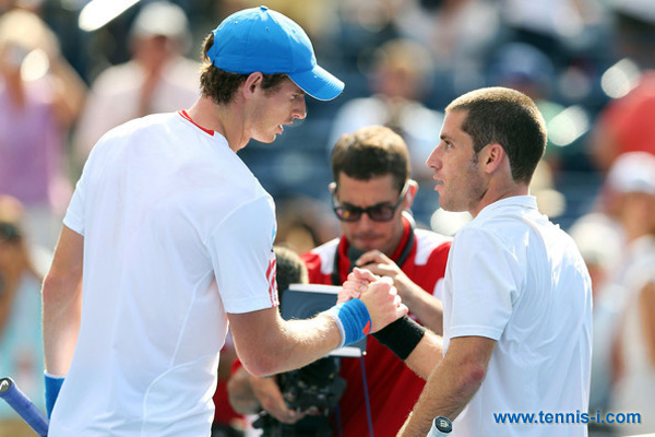 tennis Andy Murray Flavio Cipolla 2012