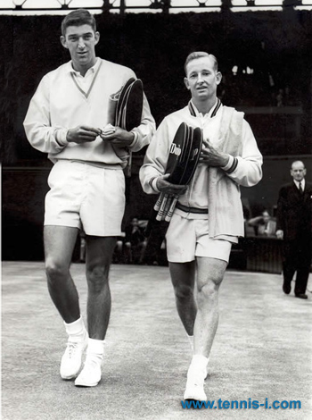 Barry MacKay, Rod Laver