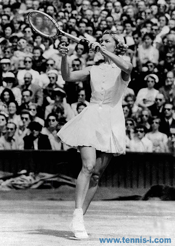 tennis Beverly Baker Fleitz left