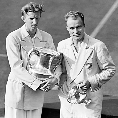 Don Budge Gene Mako US Champions 1938