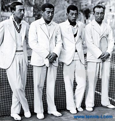 tennis i.com Fujikura Yamagishi Nishimura Sato 1934