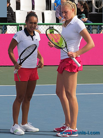 Heather Watson Jocelyn Rae 2011