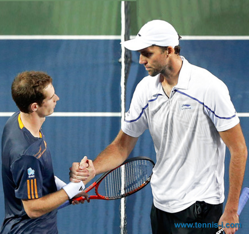 Ivo Karlovic Andy Murray 2012