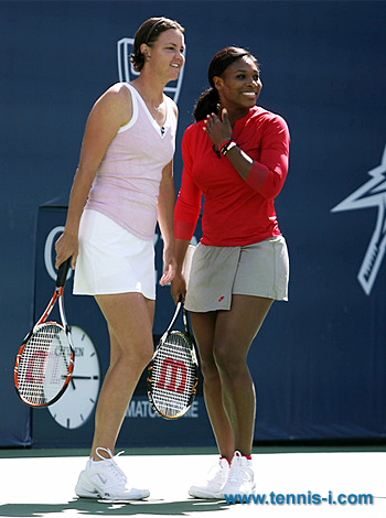 Lindsay Davenport Serena Williams 2008