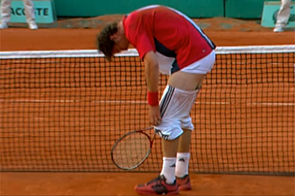 Marat Safinr French Open 2004