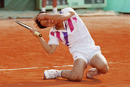 Michael Chang French Open 1989