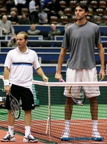 Olivier Rochus Ivo Karlovic 2008