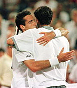 Pete Sampras Alex Corretja US Open 1996