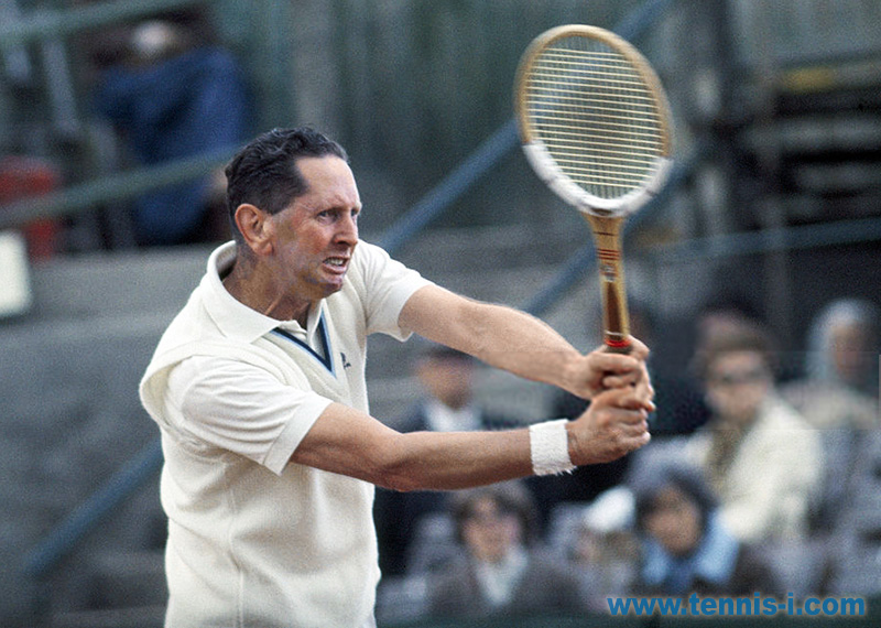 tennis Robert Howe backhand