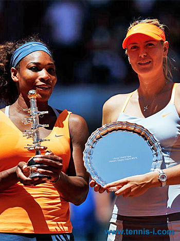 Serena Williams Maria Sharapova 2013