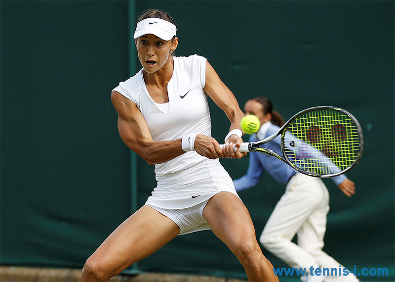 tennis Vitalia Diatchenko backhand