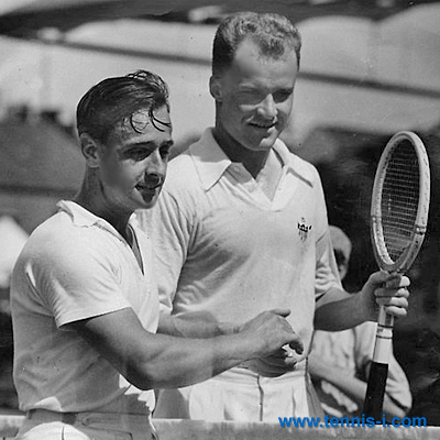 Adrian Quist Gene Mako 1937