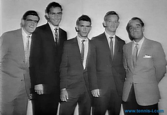 Mark Hewitt Mulligan Laver Quist 1960