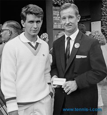 Martin Mulligan Rod Laver 1962