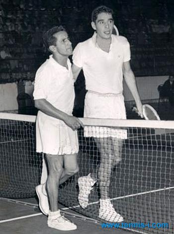 Pancho Segura Pancho Gonzales 1957