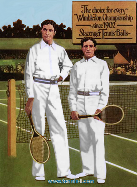 tennis brothers Doherty