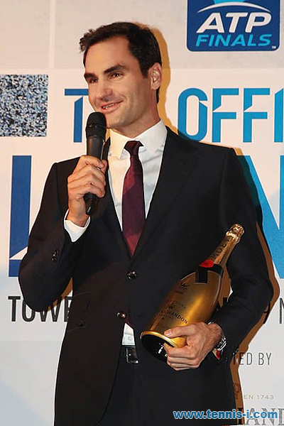 Comeback Player of the Year 2017 Roger Federer