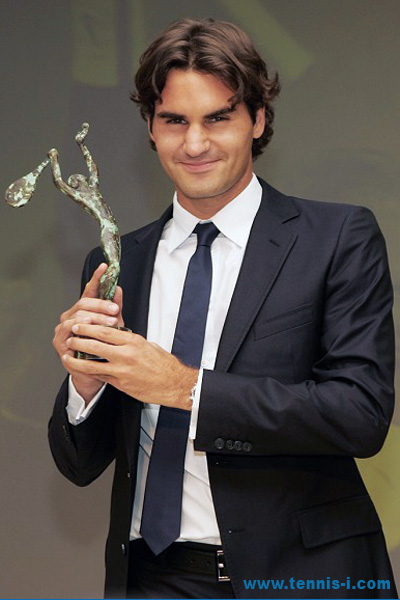 ITF World Champion 2008 Roger Federer