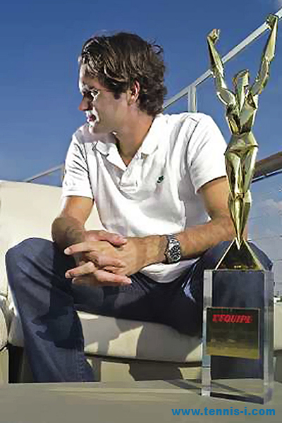 LEquipes Champion of Champions Roger Federer