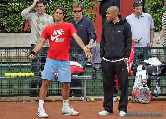 Roger Federer Thierry Henry 2007
