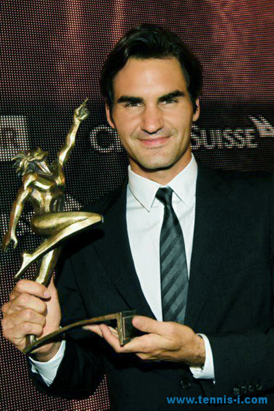 Swiss Athlete Year 2012 Roger Federer
