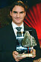tennis i.com Swiss of the Year 2003 Roger Federer