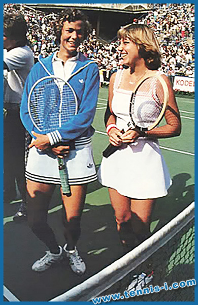 Pam Shriver Chris Evert US Open 1978