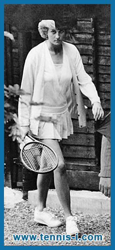 tennis Princess Diana