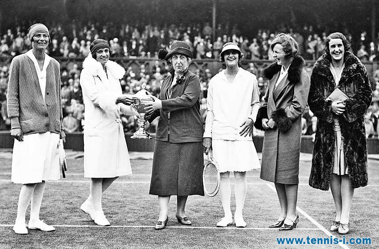 tennis Princess Helena Victoria Wightman Cup 1928
