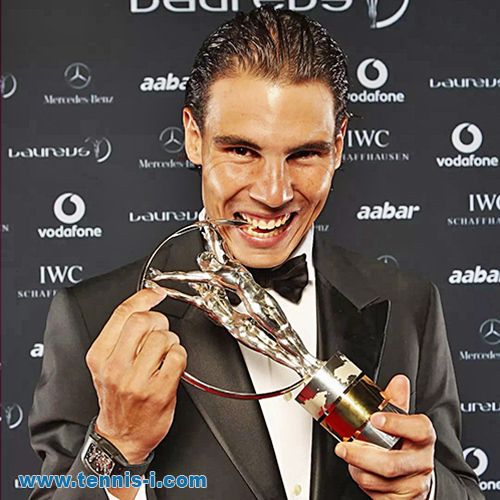 tennis Nadal Laureus Sport Awards 2011