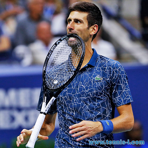 tennis Novak Djokovic