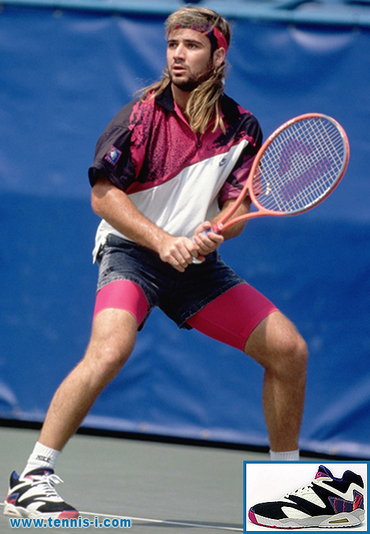 Andre Agassi US Open 1991