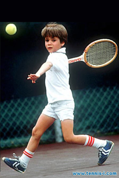 Andre Agassi kid