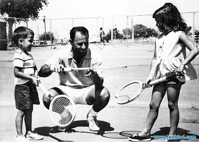 Andre Mike Tami Agassi 1973