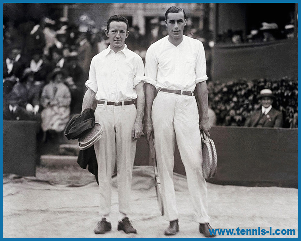 tennis i.com Bill Tilden Bill Johnston 4.09.1919