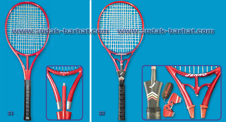 Snauwaert Ellipse Touch Jenro Twin Racket
