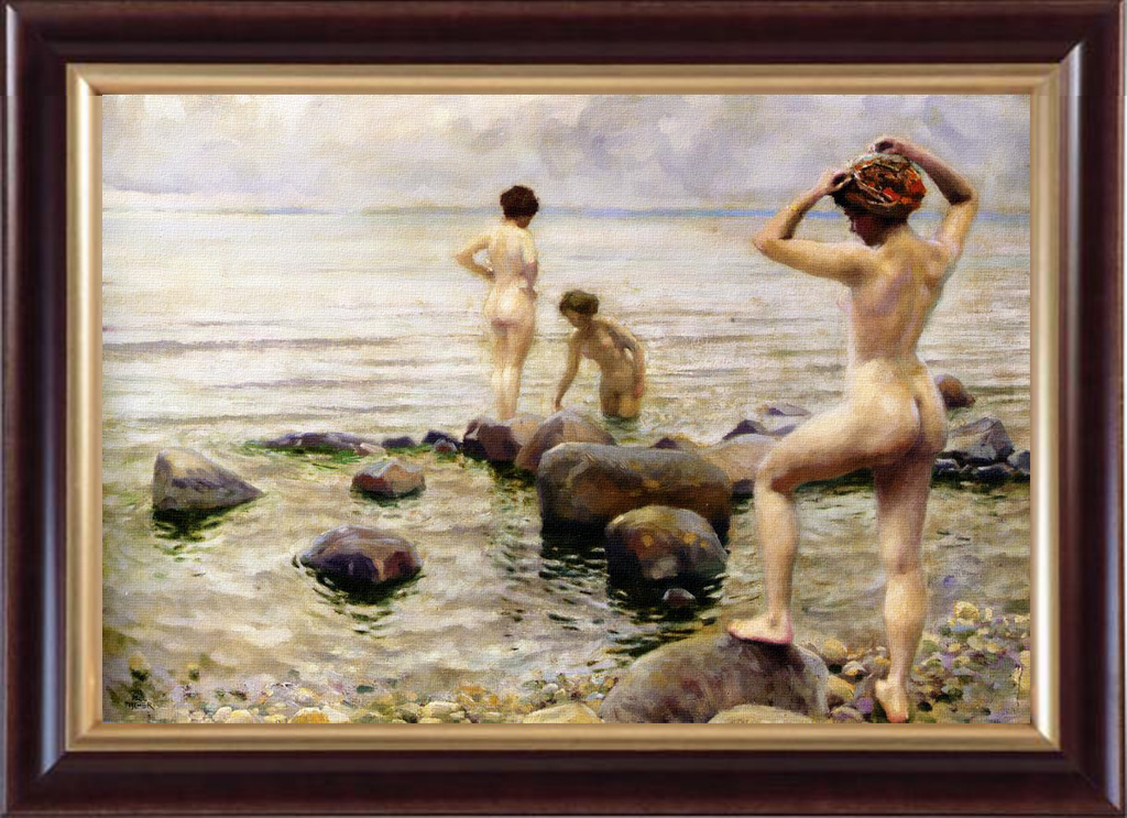 Paul Gustave Fischer Morning Dip