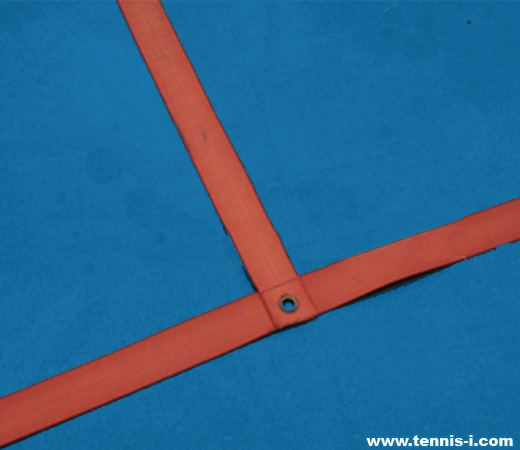 tennis court fabric line