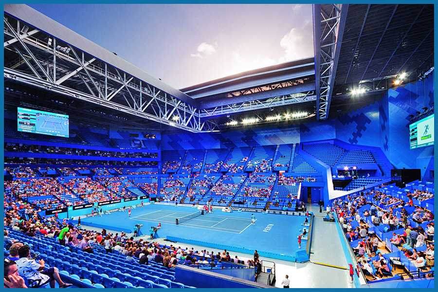 tennis i.com Perth Arena 2