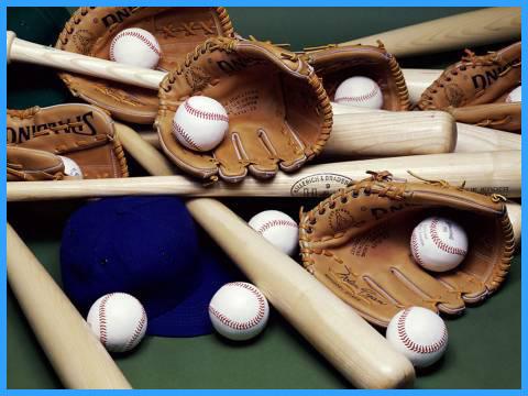 Бейсбольный инвентарь