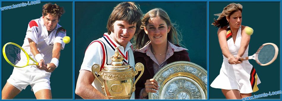 Jimmy Connors Chris Evert