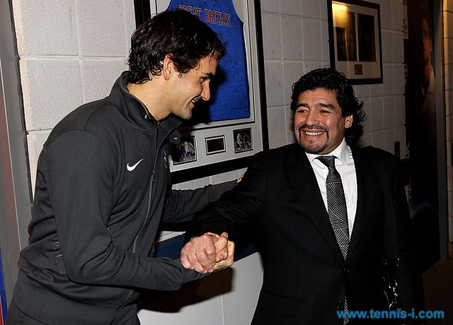 Fedwerer Maradona 23.11.2010 London