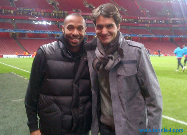 Thierry Henry Roger Federe 2011