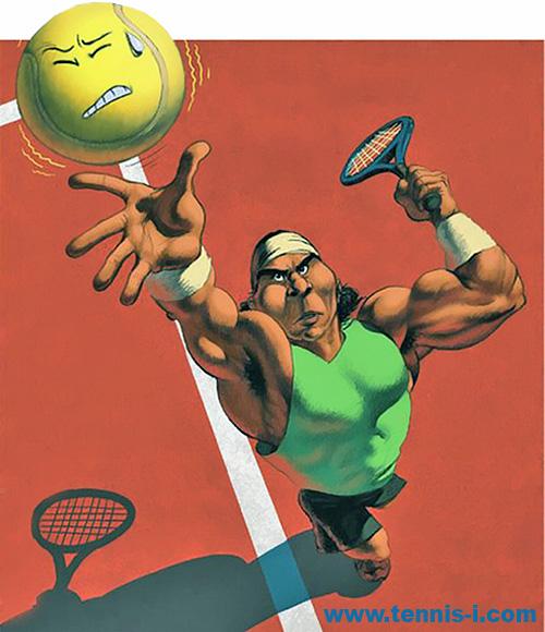 теннис мышцы надаль