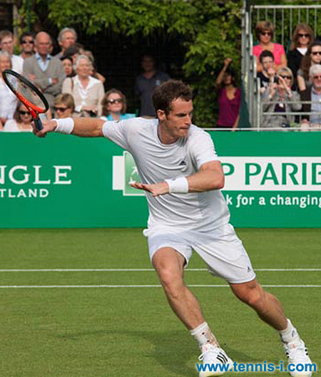 Andy Murray BNP Paribas Tennis Classic 2013
