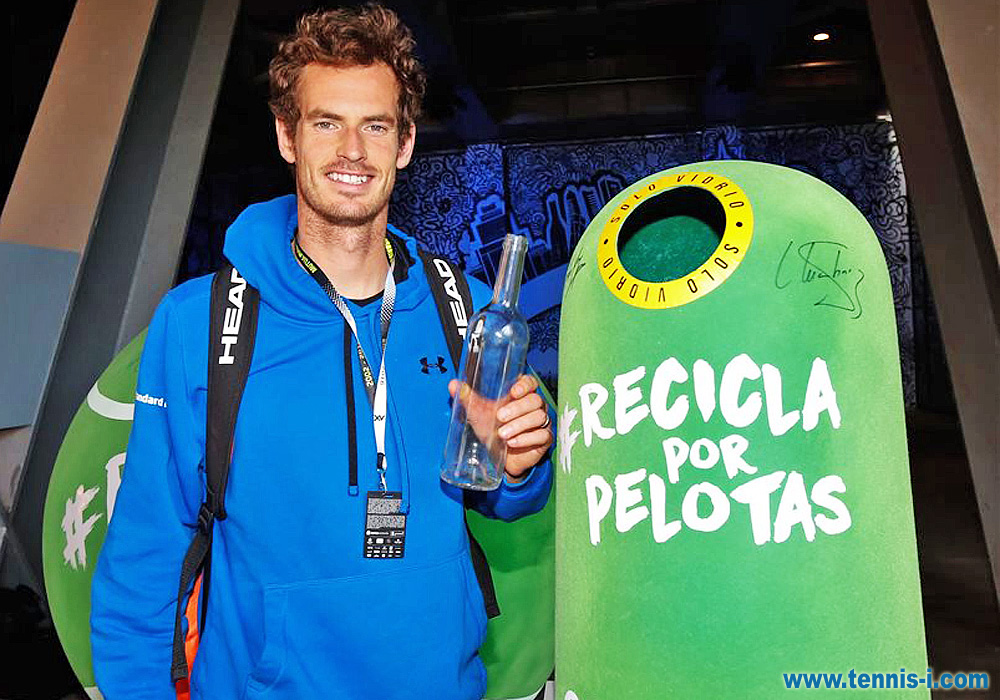 tennis Andy Murray Mutua Madrid Open Ecovidrio 2016