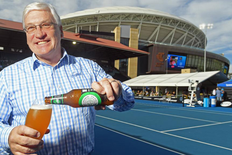 tennis Australian Open Coopers Brewery